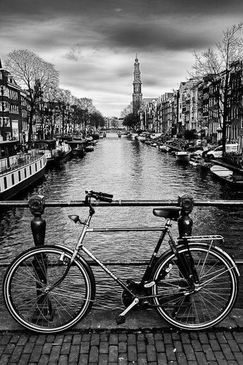 Amsterdam. I will go back,                                                                                                                                                                                 More city life #blackandwhitephotraphy