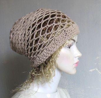 32350cf24b830 Men Women Black Slouchy Beanie Dreadlock Tam Winter Beanie Hat For Dreads  Black Winter Hat Oversized