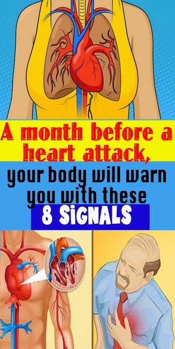 A month before a heart attack, your body will warn you with these 8 signals - Health Remedies