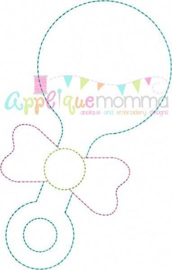 Baby Bottle Baby Shower Card: The baby bottle card template