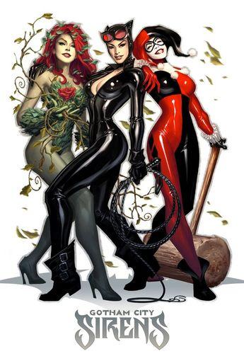 3 Lady Killers of Gotham