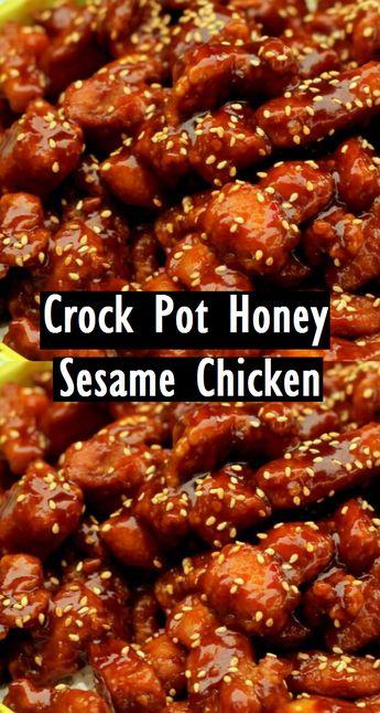 Crock Pot Honey Sesame Chicken - Recipes Made Easy