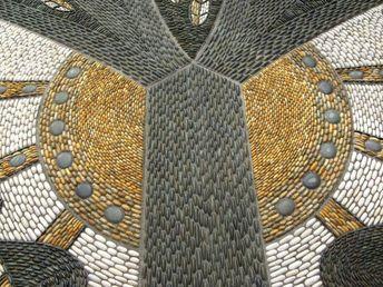 Art mosaic garden garden