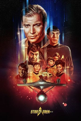 Star Trek: Cartazes alternativos homenageiam os 50 anos da saga