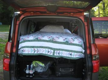 Sleeping platform and camping storage - Page 3 - Honda Element Owners Club Forum