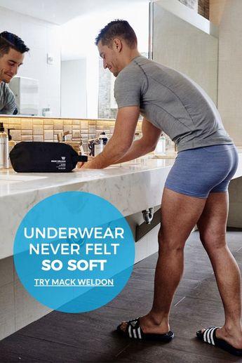 Underwear never felt so soft. Try Mack Weldon.
