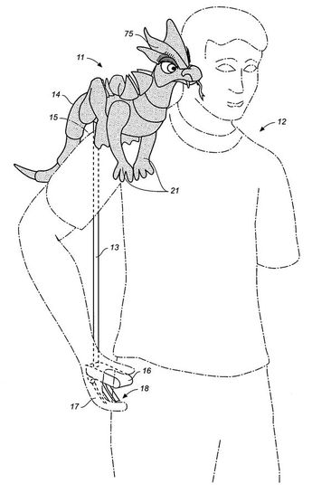 US20060183402A1 - Articulable shoulder puppet - Google Patents