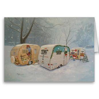 SISTER'S CHRISTMAS CAMP HOLIDAY CARD   Zazzle.com