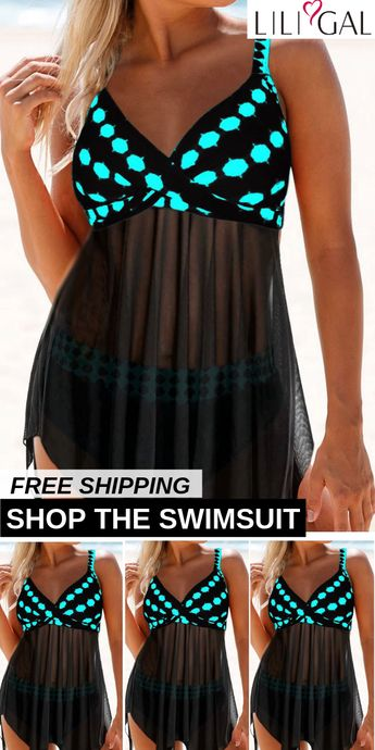 Free Shipping & Easy Return. Up to 55% Off. Sexy Printed Beach Swimsuits For Women. #liligal #swimsuit #swimwear #beachwear #tankini #bikiniset #onepieceswimsuit