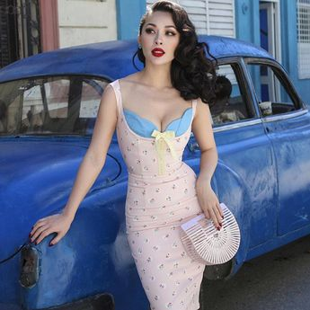Pinup Wiggle Dress