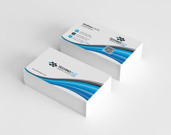 Nirvana Corporate Business Card Template - Graphic Templates