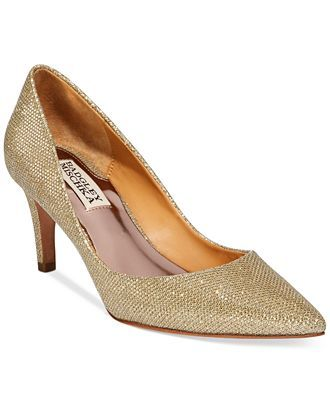 be6db86facca Badgley Mischka Poise Evening Pumps - Pumps - Shoes - Macy s