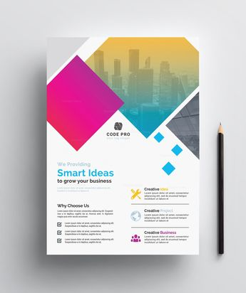 Customizable Business Flyer Design - Graphic Templates