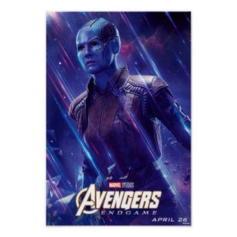 Avengers: Endgame | Nebula Theatrical Art Poster | Zazzle.com
