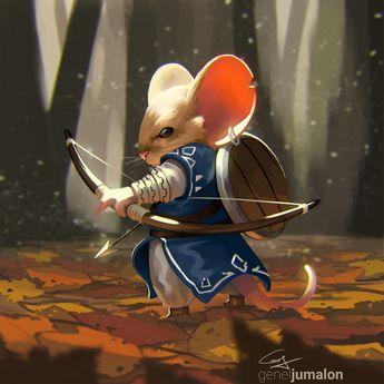 ArtStation - Mouse of the Wild, Genel Jumalon