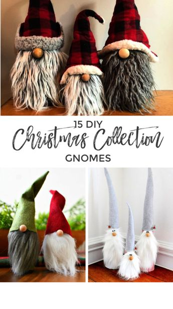 DIY Christmas Gnome Collection