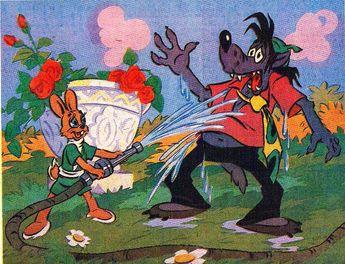 Hase & Wolf (Trickfilm UdSSR `70 -`80iger Jahre)