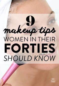 Makeup Tips For Women In 40s