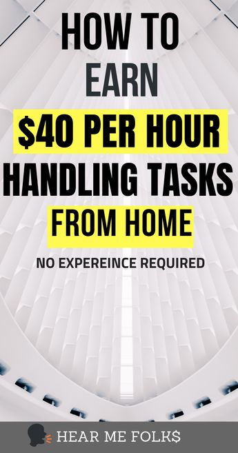 How You Can Make $25-40/hr as a Virtual Assistant with Zero Experience | HearMeFolks