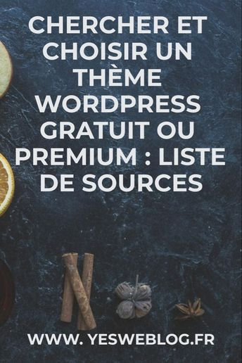 Où Trouver Son Thème Wordpress - Yes We Blog !