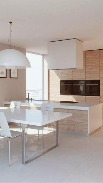 36+ Inspiring Modern Scandinavian Kitchen Design Ideas #inspiringkitchen #kitchendesign #kitchenideas ~ Gorgeous House