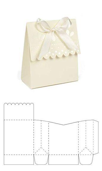 Caja tipo flor para galletas - DiyForYou