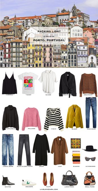 What to Pack for Porto, Portugal