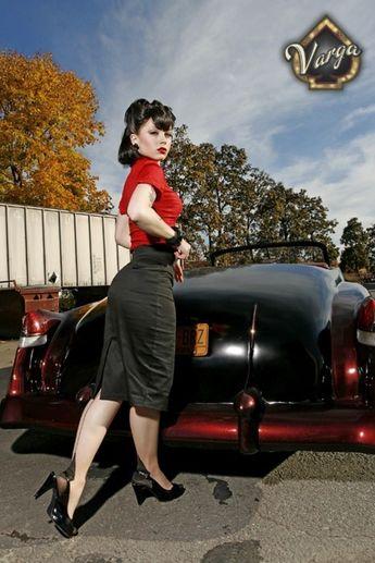 hotrod-pinup:corset