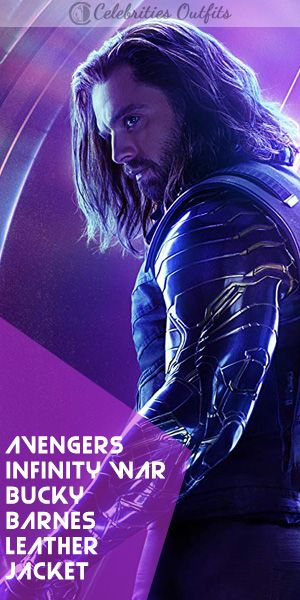 Avengers Infinity War Winter Soldier Leather Jacket