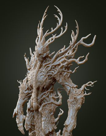 Wood elves - Treeman, Johann Tan