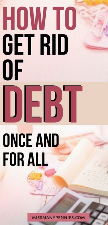 How we got rid of debt for good, and how you can too. Simple steps and tips to pay off debt and become debt free.