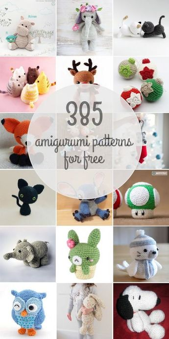 Amigurumipatterns.net has the largest collection of amigurumi patterns, with both free and premium patterns.