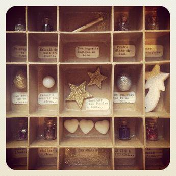 Cabinet de curiosités MAGIQUES Graine de Carrosse [Pièce UNIQUE]