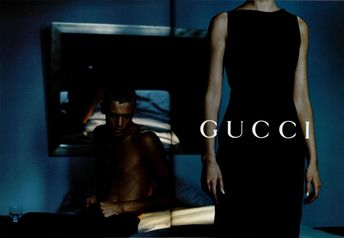 one of best campaigns ever gucci s/s 98 luis sanchis