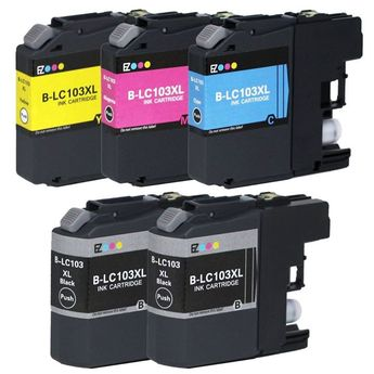 Purchase #Brother LC103 Black and Color #InkjetCartridge Online Only $32.99 by ASAP Inkjets with Fast & Free Shipping. Order Online!