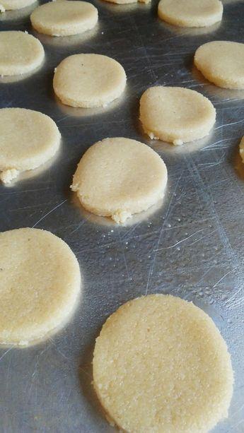 Keto Lemon Shortbread Cookies