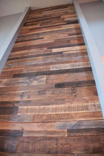 Comment faire un mur en bois de palette?