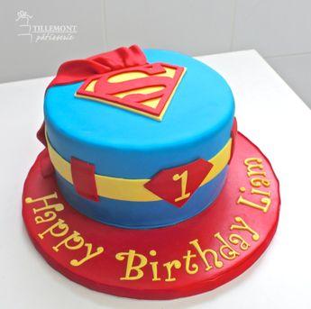 Superman - Childrens Cakes   Patisserie Tillemont   Montreal
