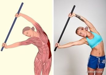 These 18 Pictures Will Show Which Muscles You Stretch