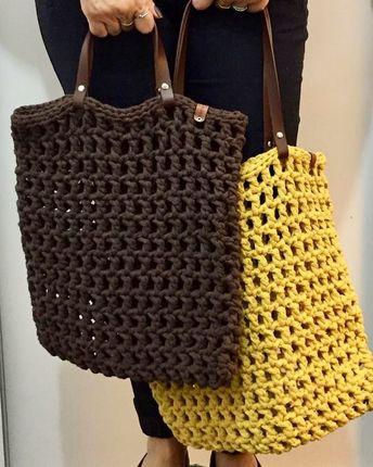 Bolsa rede!! #gaiacarioca #crochê #crochet #netbagcrochet #netbag #bolsarede #tirademalha #bolsa #bolsacroche #feitoàmão #handmade #diy…