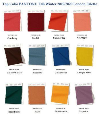 Panton fashionable colors Fall - Winter 2019/2020-  #colors #Fall #fashionable #Panton #Winter-    Panton fashion colors winter fall 2019-2020 palette london