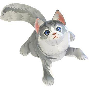 Maine Coon,Animals,Paper Craft,Mammals ,Animals,cat,Paper Craft,Pet series,easy