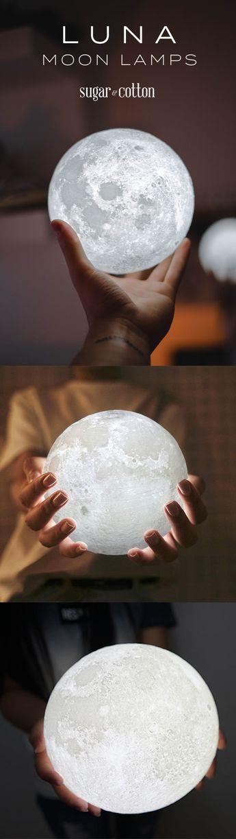 Luna - Moon Nightlight Lamp