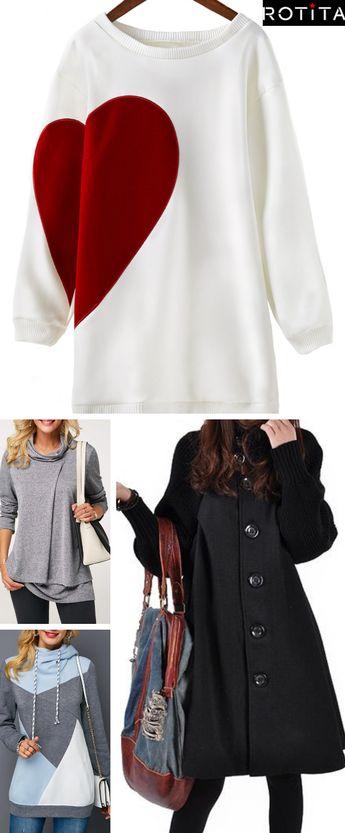 Avec ces vêtements ajustés à votre silhouette, vous serez prêtes pour tous types d'occasion.