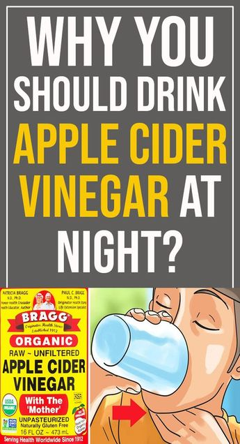 Drink Apple Cider Vinegar Before Bed – It Will Change Your Life For Good - Healthy Kingdom