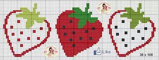 Giornate dell'Arte punto croce di Cinthia giorni: Il fascino della frutta continua ...