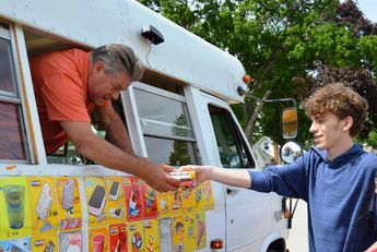 After 45-year ban lifted ice cream trucks a source of excitement for this town