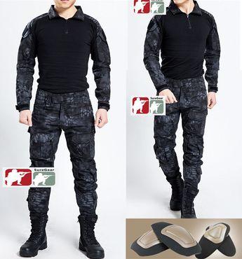 05c2fdb9cb6e0 TYPHON Gen3 G3 Combat Suit Shirt Pants Tactical Special Forces Uniform  Kryptek in Sporting Goods,