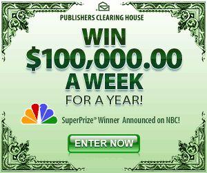 PCH $10 Million SuperPrize Giveaway No  13000