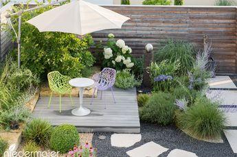 Familiengarten Abgetrennter Sitzbereich Sommeroptik